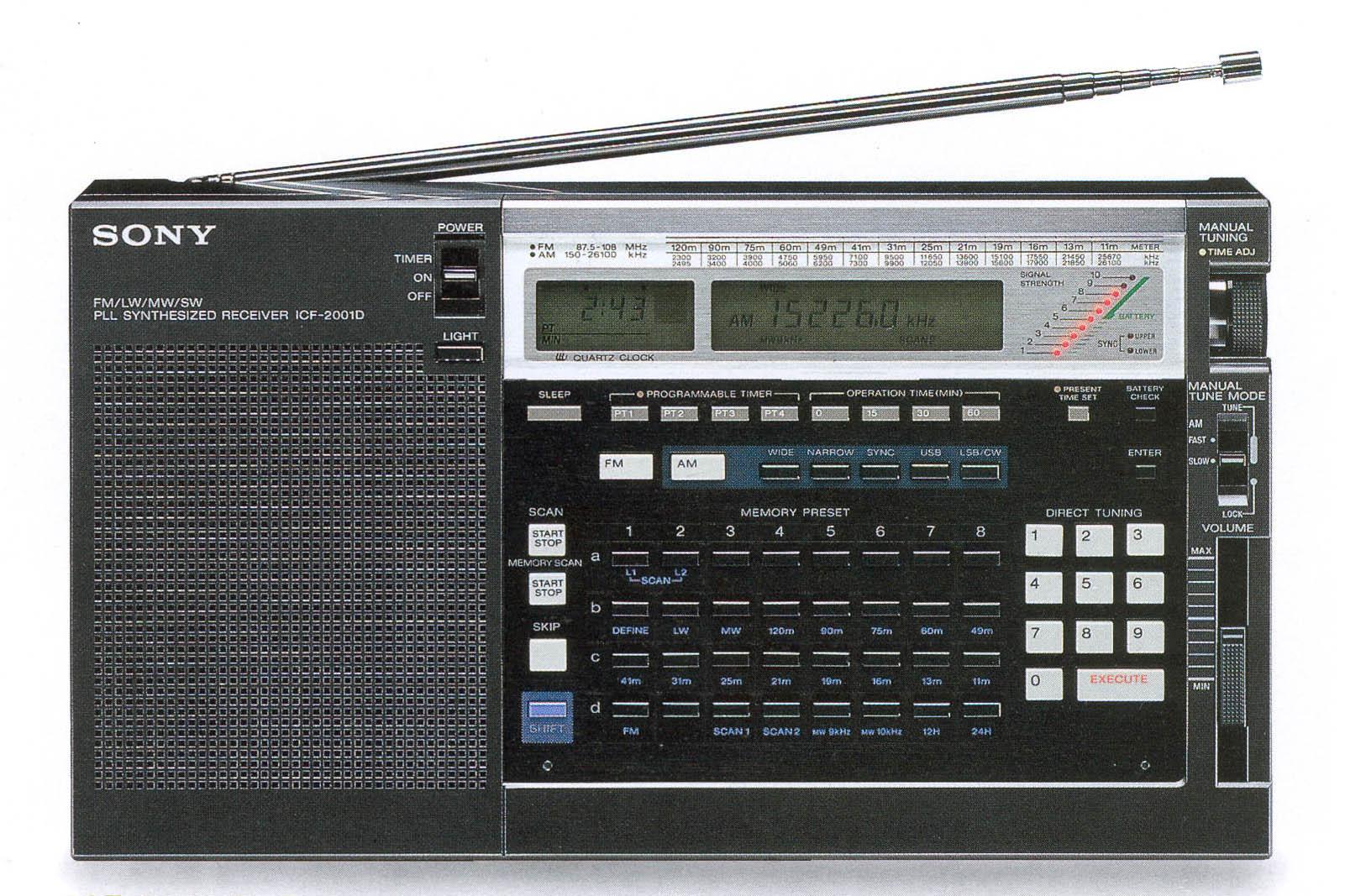 Sony ICF2001D
