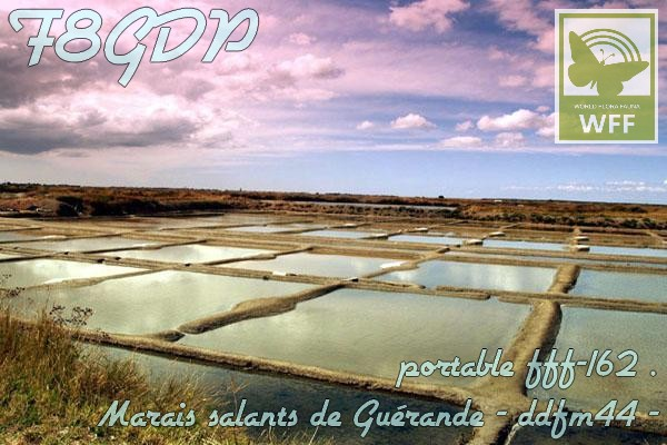 du 02/08 au 09/08 FFF-162 Les marais salants de Guérande (44)