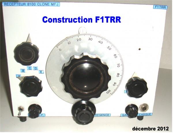 Face avant 8100 F1TRR
