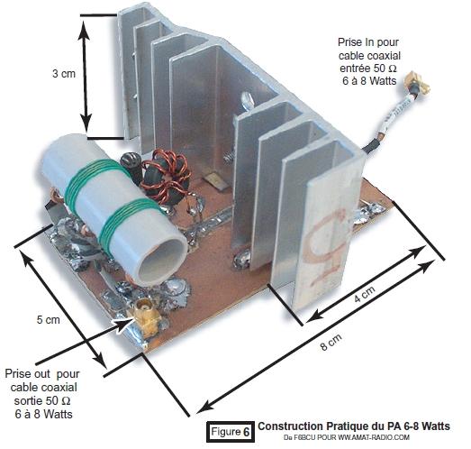 PA 6 - 8 W HF