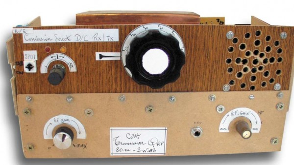 Photo transceiver 80m