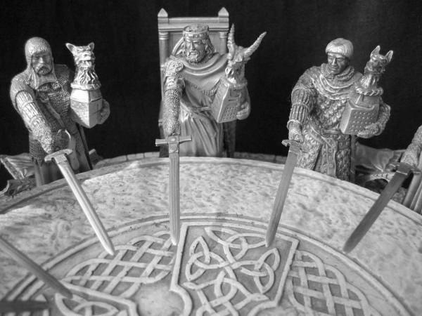 Table ronde radioamateur tout le monde sauf l urc et le - La table ronde du roi arthur ...