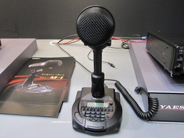 Microphone Yaesu M 1 Urc News Linformation Radioamateur